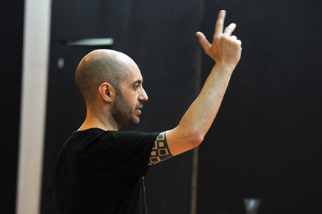 Paco Azorín signa l'escenografia i la direcció d'escena d'aquesta producció de Tosca. © Antoni Bofill
