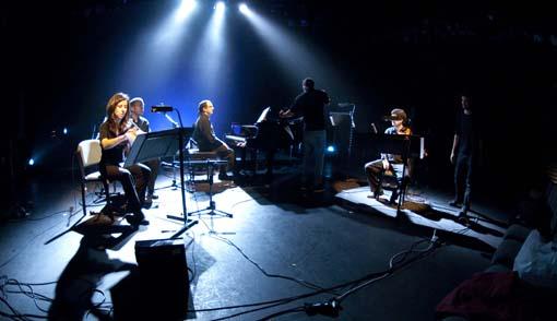 L'ensemble Taller Sonoro. © Gustavo Porras (foto d'arxiu, actuació a Sevilla, 2012)