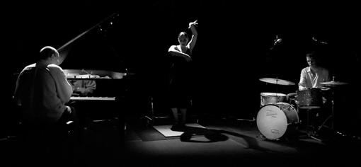 El Trio SAI, format per la bailaora Sònia Sánchez, el pianista Agustí Fernández i la percussió d'Ivo Sans (foto d'arxiu)