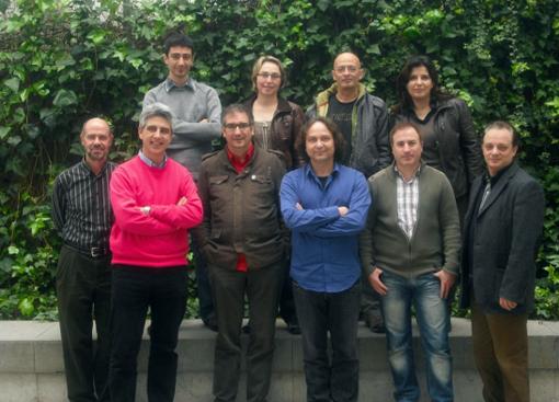 Els membres de la Junta Directiva de la FAIC