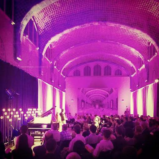 El Pavelló de Sant Rafael, de Sant Pau Recinte Modernista, on es realitzà el concert. © www.facebook.com/LIFEVictoria