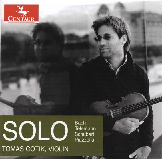 disc Centaur-Bach-Telemann-Schubert-Piazzolla-Tomas Cotik