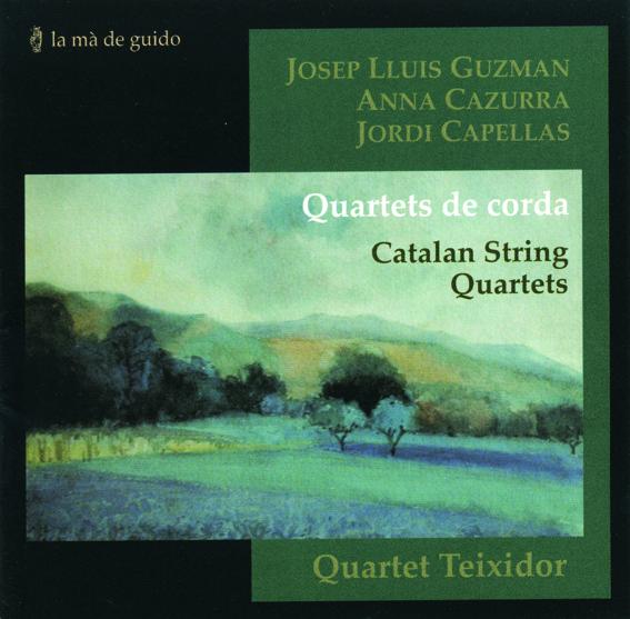 disc La mà de guido- Guzman-Cazurra-Capellas-quartets de corda-Quartet Teixidor