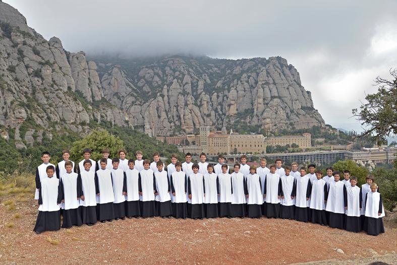 L'Escolania de Montserrat (foto d'arxiu)
