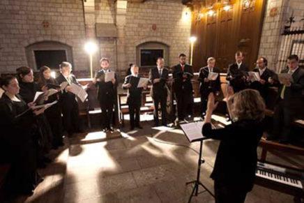 El cor Barcelona Ars Nova protagonitza el nou cicle Música als Monestirs, de música litúrgica fora de l'ofici religiós