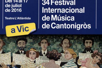 El 14 de juliol arrenca la 34a edició del Festival Internacional de Música de Cantonigròs