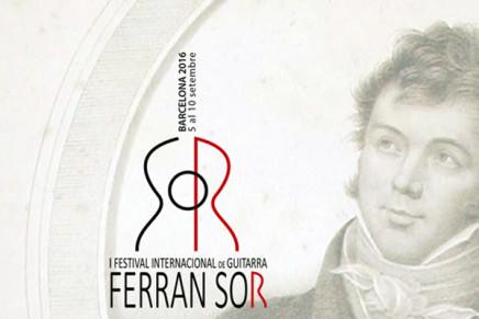 Neix el I Festival Internacional de Guitarra Ferran Sor