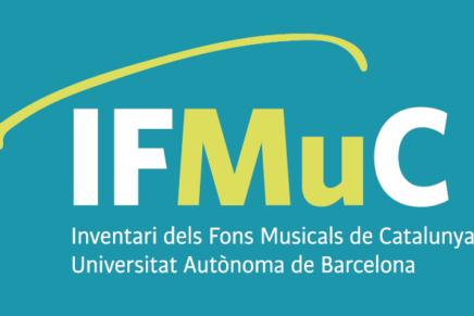 IFMuC, un projecte al servei del patrimoni musical de Catalunya