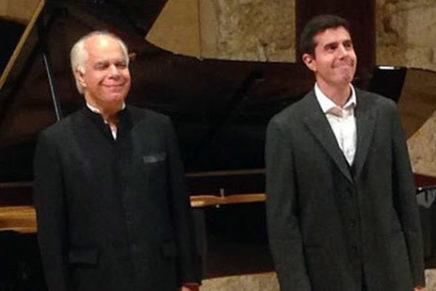 Recital solidari del cicle Life Victoria amb Joan Martín-Royo i Pierre Réach