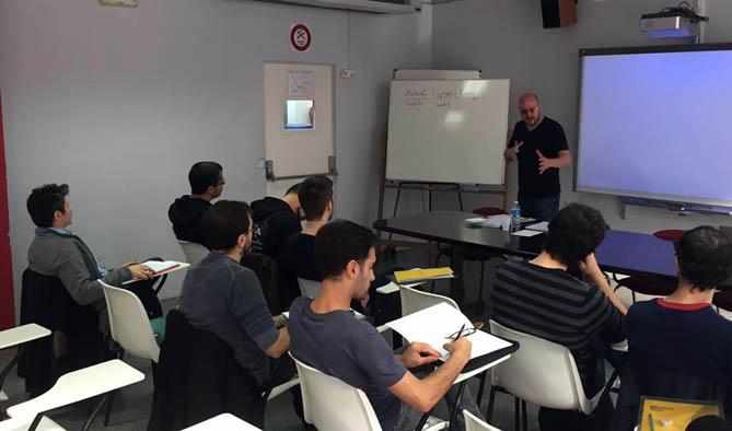 Un instant del curs amb Raphaël Cendo. © www.facebook.com/cursbmp