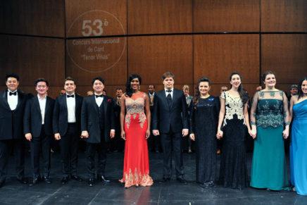 Més de 500 cantants participen en el Concurs Internacional de Cant Tenor Viñas aquest gener