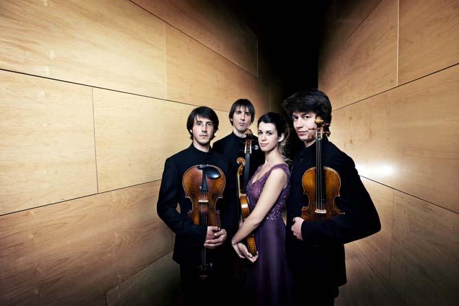 Quartet Gerhard. © Josep Molina
