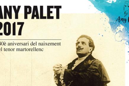 Martorell celebra els 140 anys del naixement del tenor Josep Palet