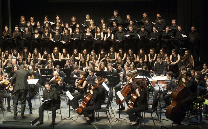 Concert de Nadal de la Societat Coral Amics de la Unió. © Toni Torrillas