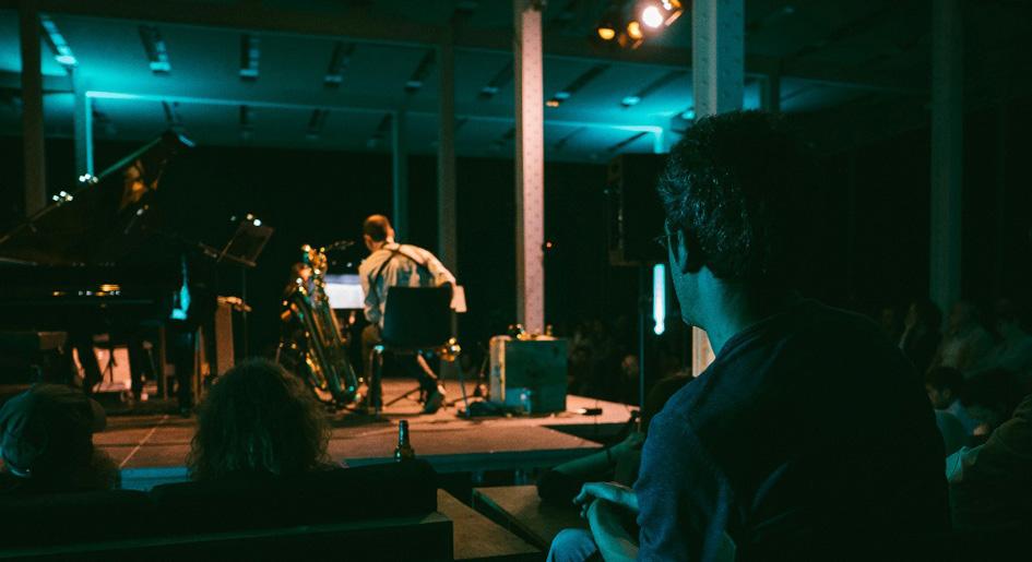 El grup Vertixe Sonora Ensemble en l'anterior edició del Mixtur. © Gerard Moret