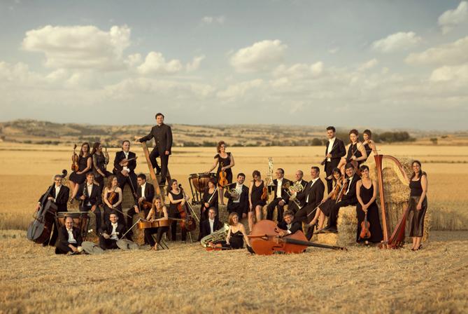 L'Orquestra Simfònica Julià Carbonell de les Terres de Lleida. © Igor Cortadellas