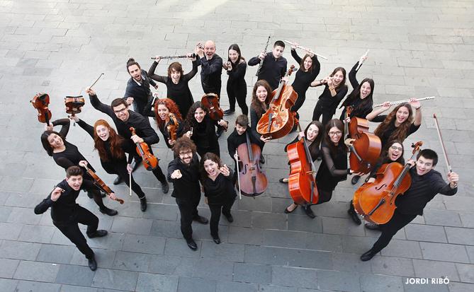Orquestra de Cambra Amics de la Unió. © Jordi Ribó