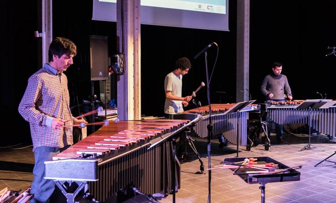 Drumming Marimba. Quartet. © Beatriz Porta