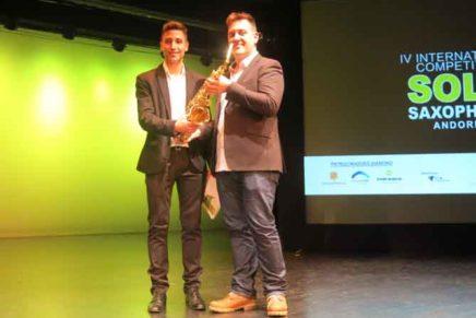 El saxofonista andalús Francisco Rusillo guanya la 4a edició del Concurs Internacional de Saxo d'Andorra