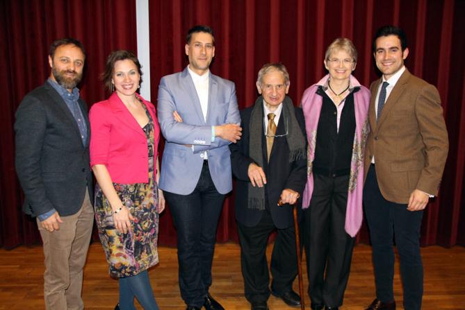 Els membres del jurat (d'esquerra a dreta): Assunto Nese, Anna Tobella, Jordi Maddaleno, Roger Alier, Christina Scheppelmann i Aleix Palau