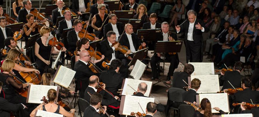 Orquestra del Maggio Musicale Fiorentino amb Zubin Mehta