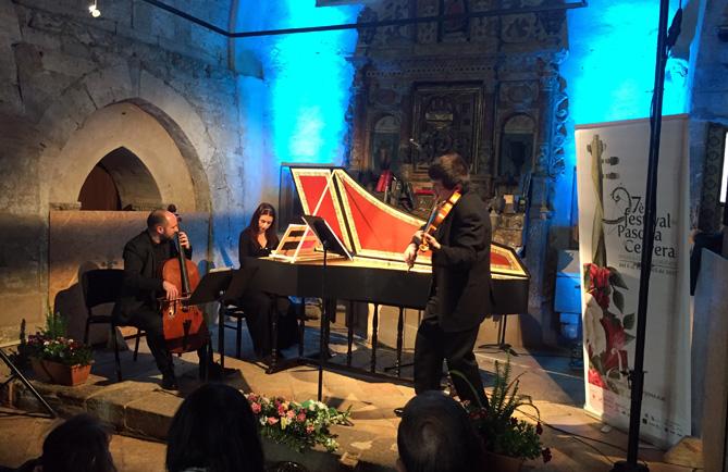 Concert d'Aria Antiqua a l'església de Sant Joan Degollat. © Jordi Prat