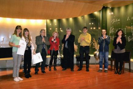 El duo de violoncel i piano format per Irma Bau i Irina Vesenova, guanyador del 28è Concurs Paper de Música de Capellades