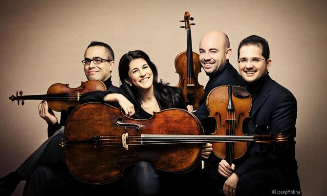 Cuarteto Quiroga. © Josep Molina