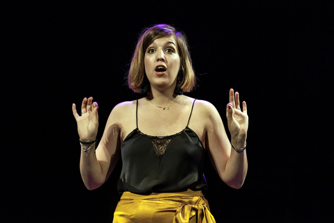 La soprano Paula Sánchez-Valverde