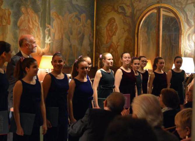 Solistes del Cor Vivaldi amb Òscar Boada