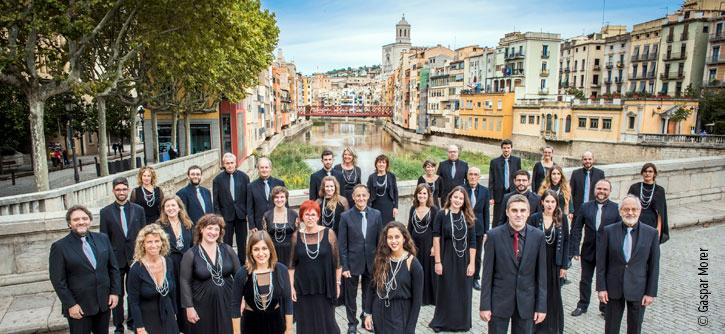 Cor de Cambra de la Diputació de Girona. © Gaspar Morer