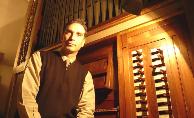 L'organista Miquel González