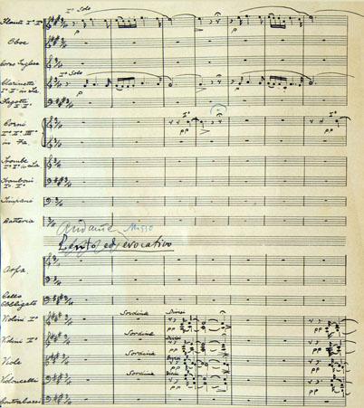 Primera pàgina de la partitura de Nocturns portuguesos de Gaspar Cassadó