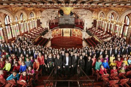 El Palau de la Música Catalana va acollir més de 560 concerts i va tenir més de 640.000 assistents el 2016