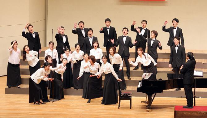 L'Ensemble Vine del Japó és un dels cors convidats al Simposi