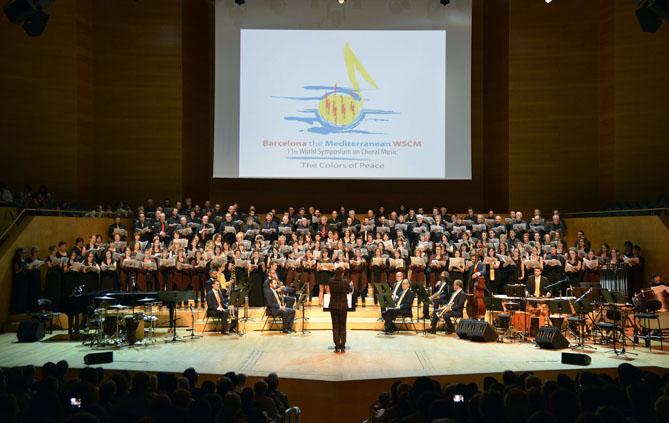 Concert inaugural de l'11è Simposi Mundial de Música Coral a L'Auditori