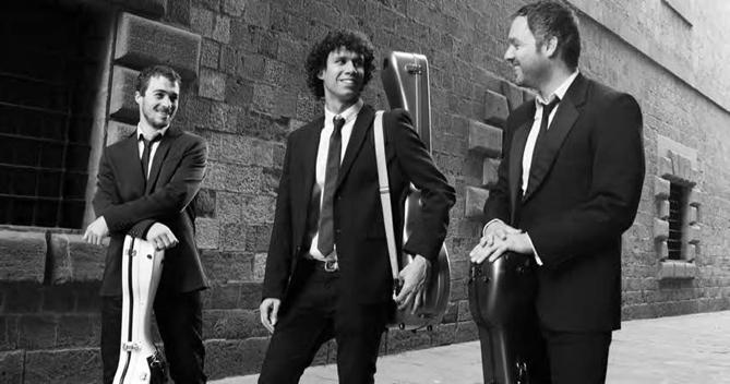 Trio Desconcierto. © Paula Latimori