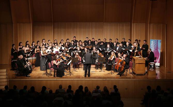 Imatge del concert del dia 19 de juliol. © www.facebook.com/Bachcelona
