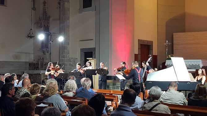 Concert de l'Orquestra Barroca Catalana a Puigcerdà. © www.facebook.com/FestivalFemap