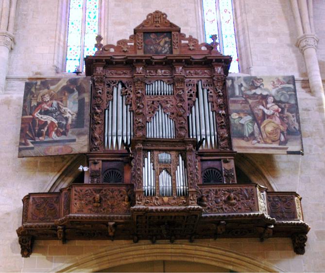 Imatge de l'orgue de Montblanc