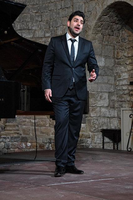 Ilker Arcayürek va debutar amb aquest recital a Catalunya. Foto: Àngel Reynal