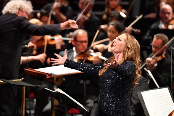 Eva-Maria Westbroek, magnífica Tove al Royal Albert Hall de Londres. Foto: BBC Chris Chistodoulou
