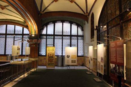 El Centre de Documentació de l'Orfeó Català dedica una exposició a la senyera de l'Orfeó Català amb motiu de la seva restauració