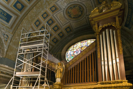 La Mercè acomiada el seu orgue amb una jornada de portes obertes