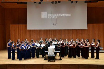 El Cor Vivaldi inicia temporada a l'Auditori del Conservatori de Música del Liceu