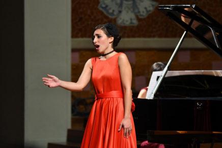 La soprano Mercedes Gancedo guanya el Premi El Primer Palau 2017, guardó que atorga el cicle El Primer Palau amb el patrocini de Mitsubishi Electric