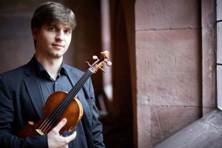 Vlad Stănculeasa, nou concertino de l'Orquestra Simfònica de Barcelona i Nacional de Catalunya