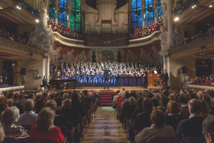 El tradicional Concert de Sant Esteve amb el 'Fum, fum, fum' com a leitmotiv
