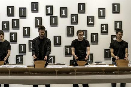 Funktion + Frames Percussion: Alvin Lucier