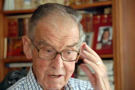 En la mort de Lluís Virgili, director de l'Orfeó Lleidatà entre els anys 1953 i 1991